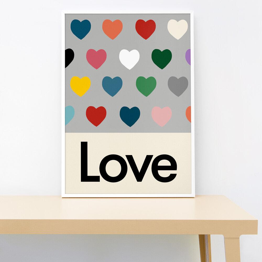 Lorna Freytag Lots of Love Print