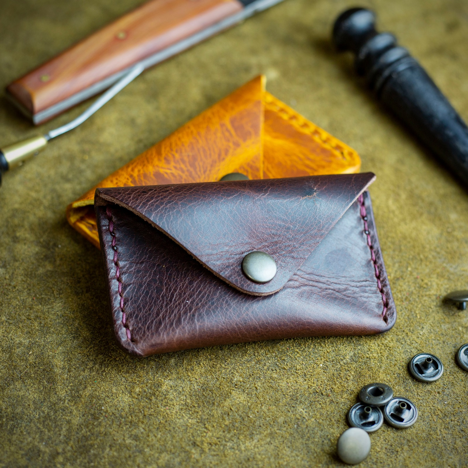 Workshop After Six Envelope Coin and Card Purse