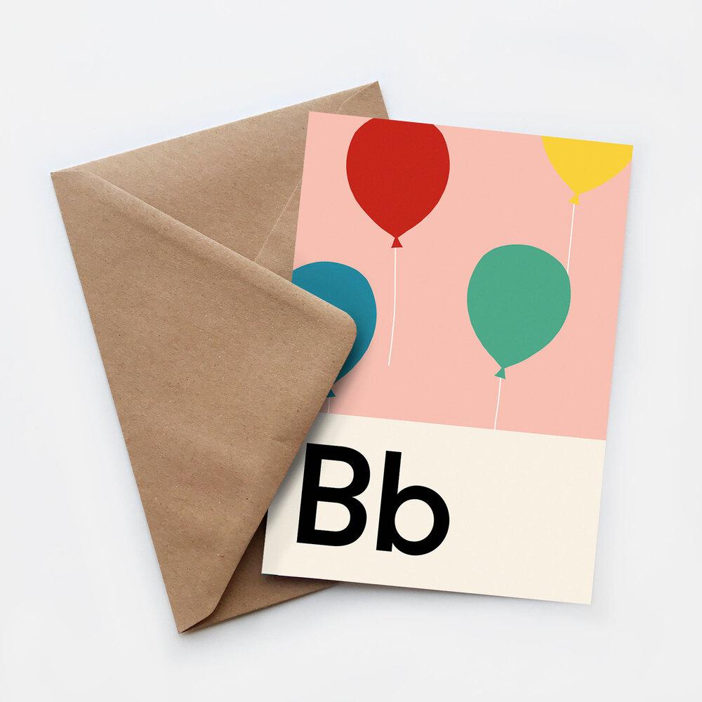 Lorna Freytag Birthday Greeting Card (Pink)