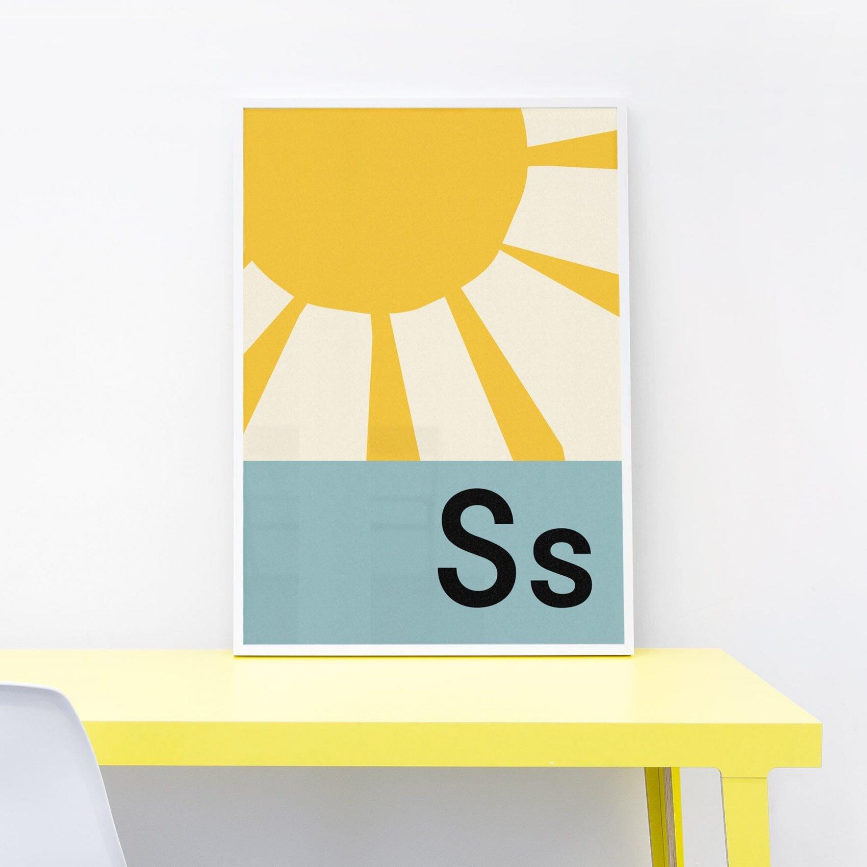 Lorna Freytag Sun A4 Print