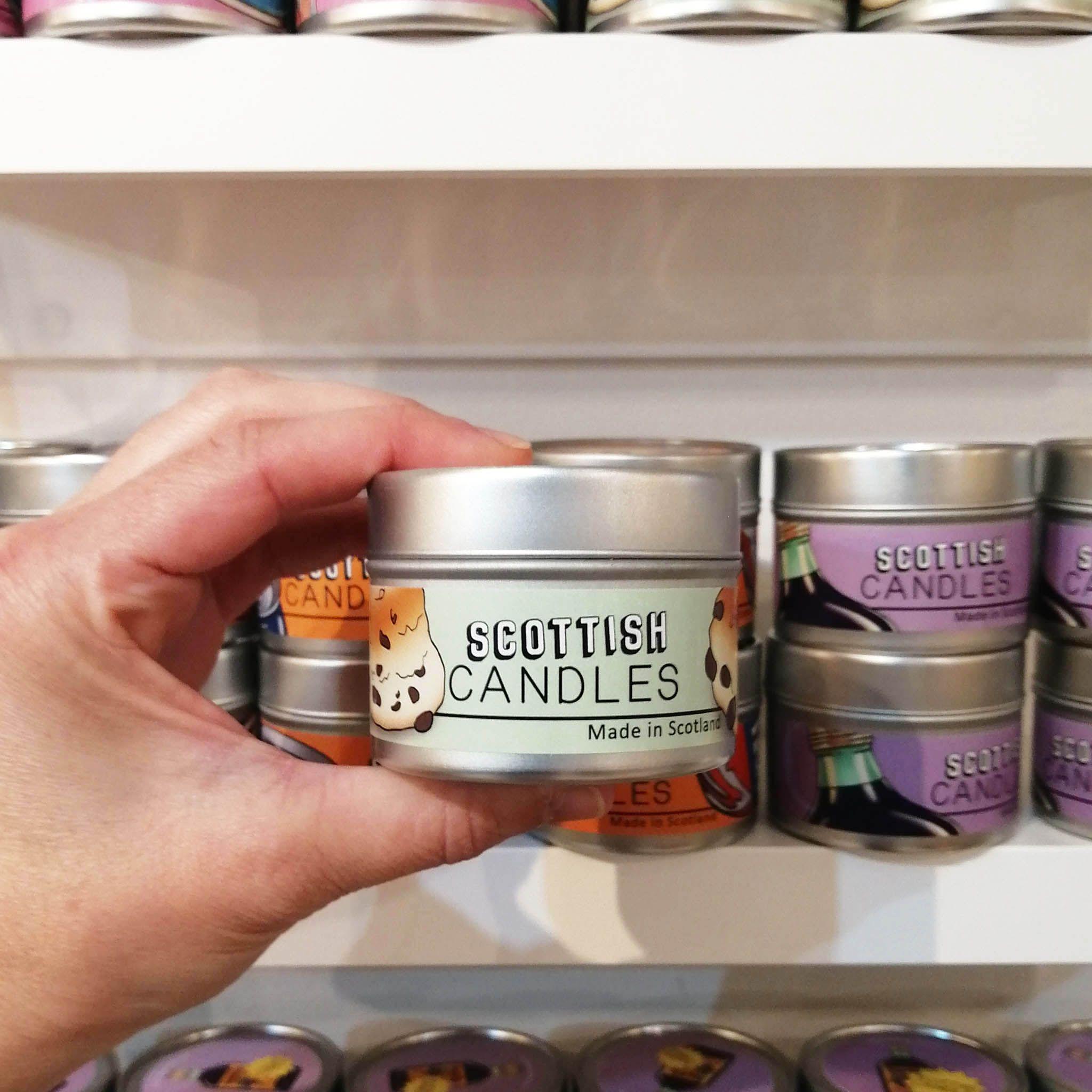 Cheryl Jones Designs Ma Wee Scone Scottish Candle