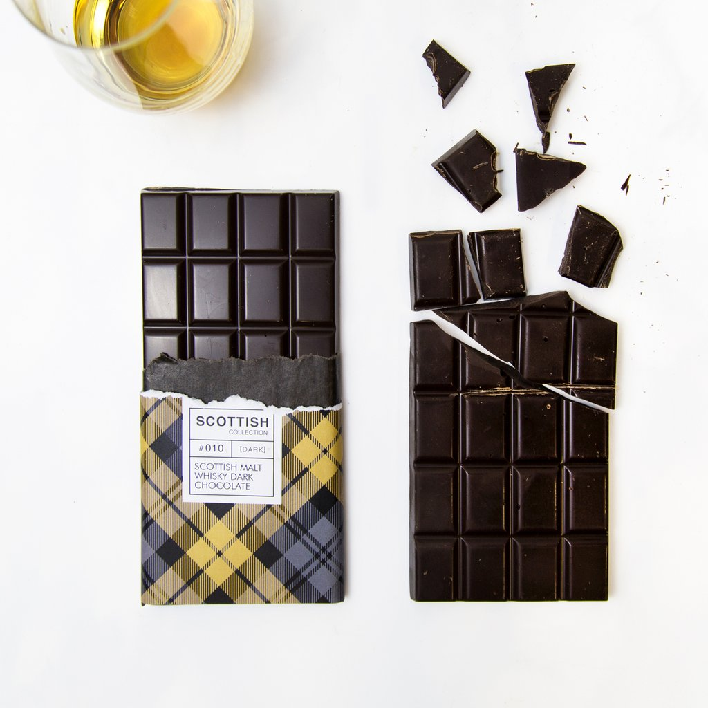 Quirky Chocolate Dram Of Whisky Chocolate Bar, 100G (PF)