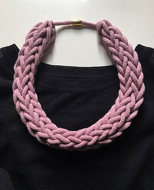 Fibre Makes Rope Style Necklace