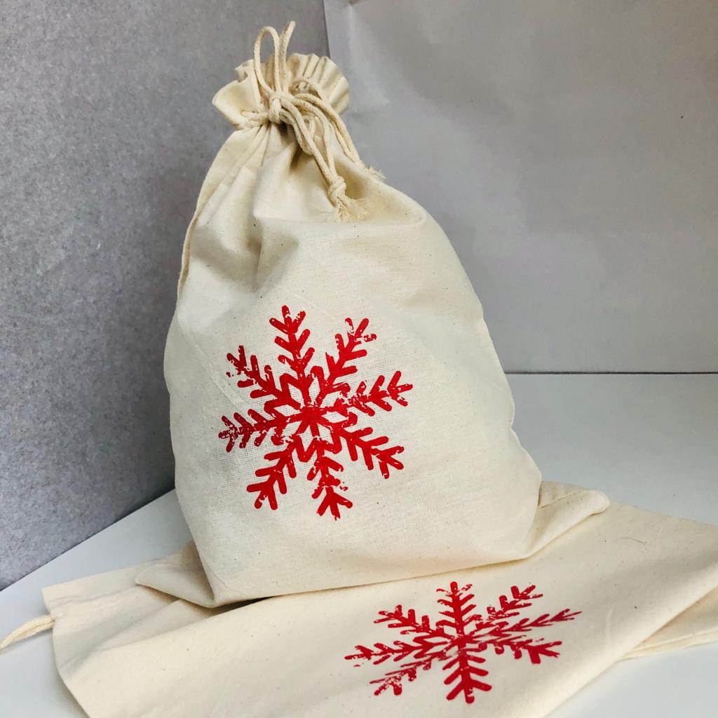Snowflake Gift Bags