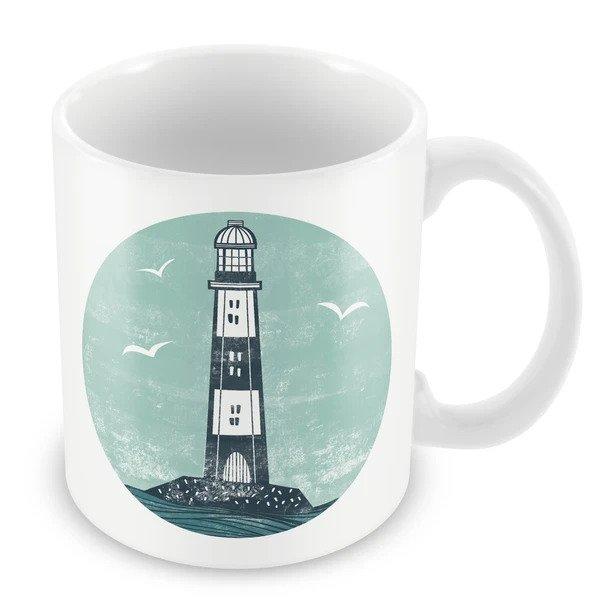 Wraptious Ceramic Mug - Lighthouse