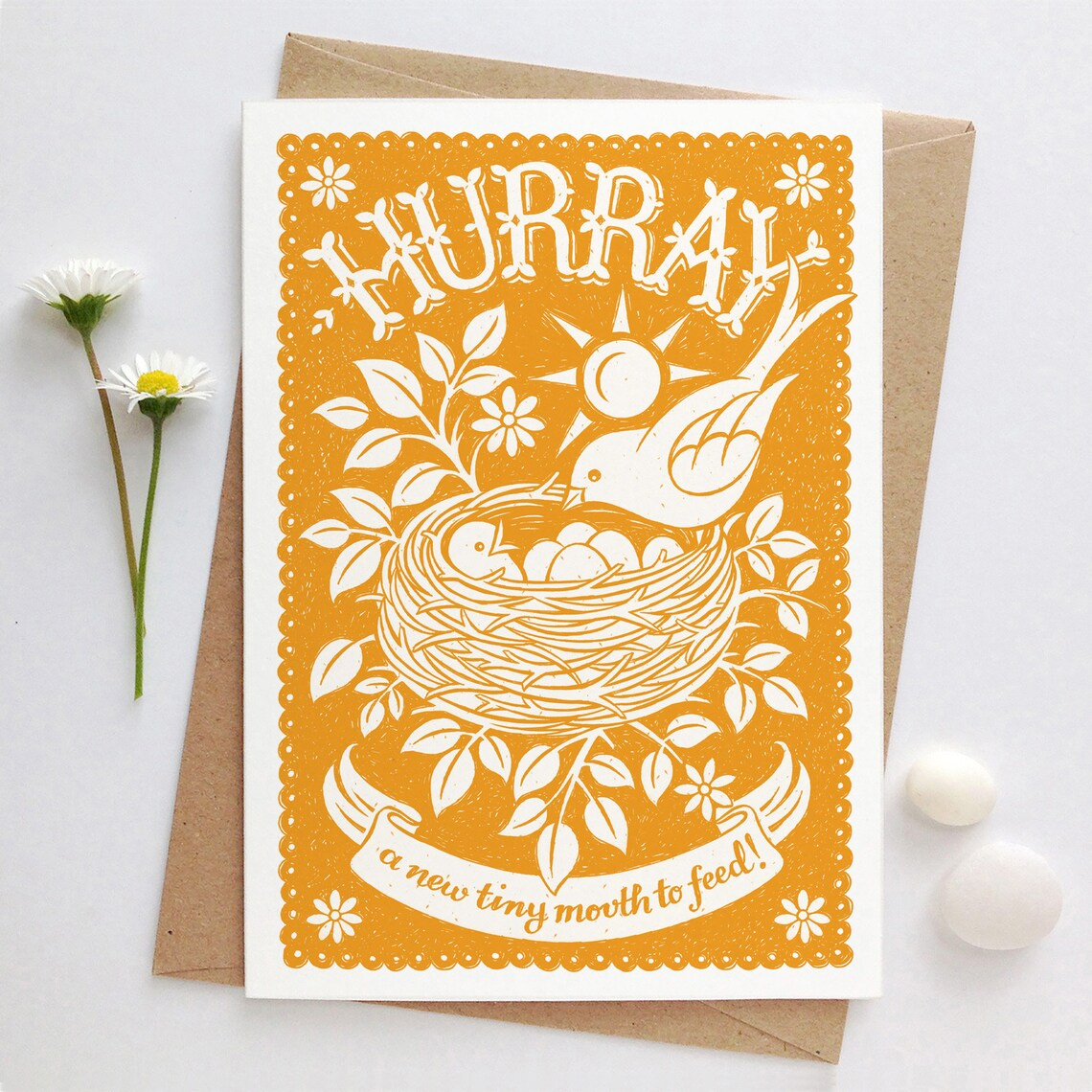 Alexandra Snowdon New Baby Card