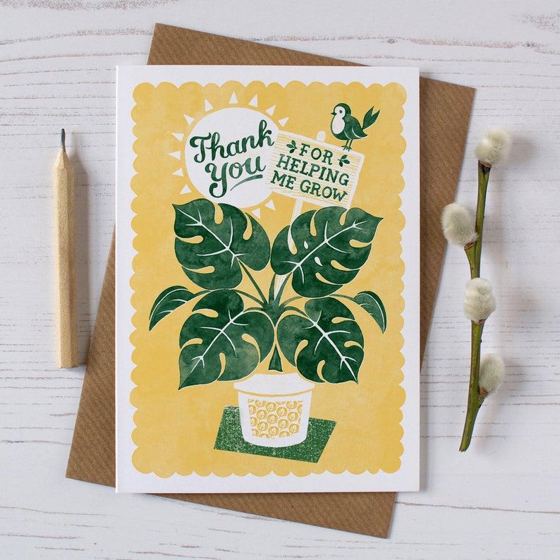 Alexandra Snowdon Thank You Card