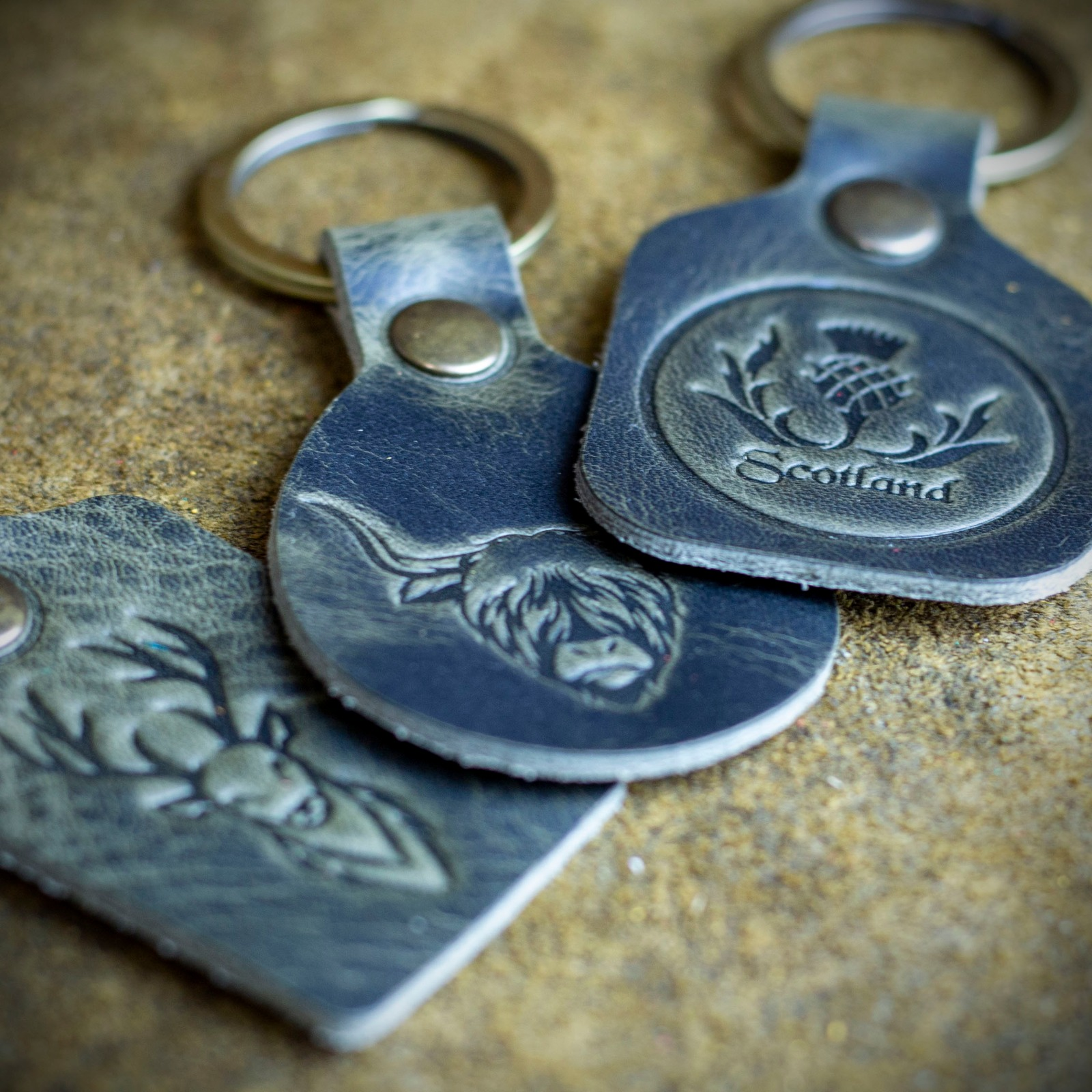 Workshop After Six Highland Key Chain Collection (Set of 3)