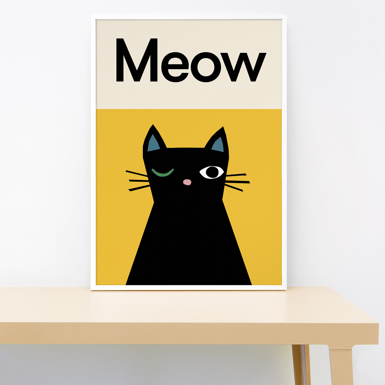 Lorna Freytag Meow Cat Print
