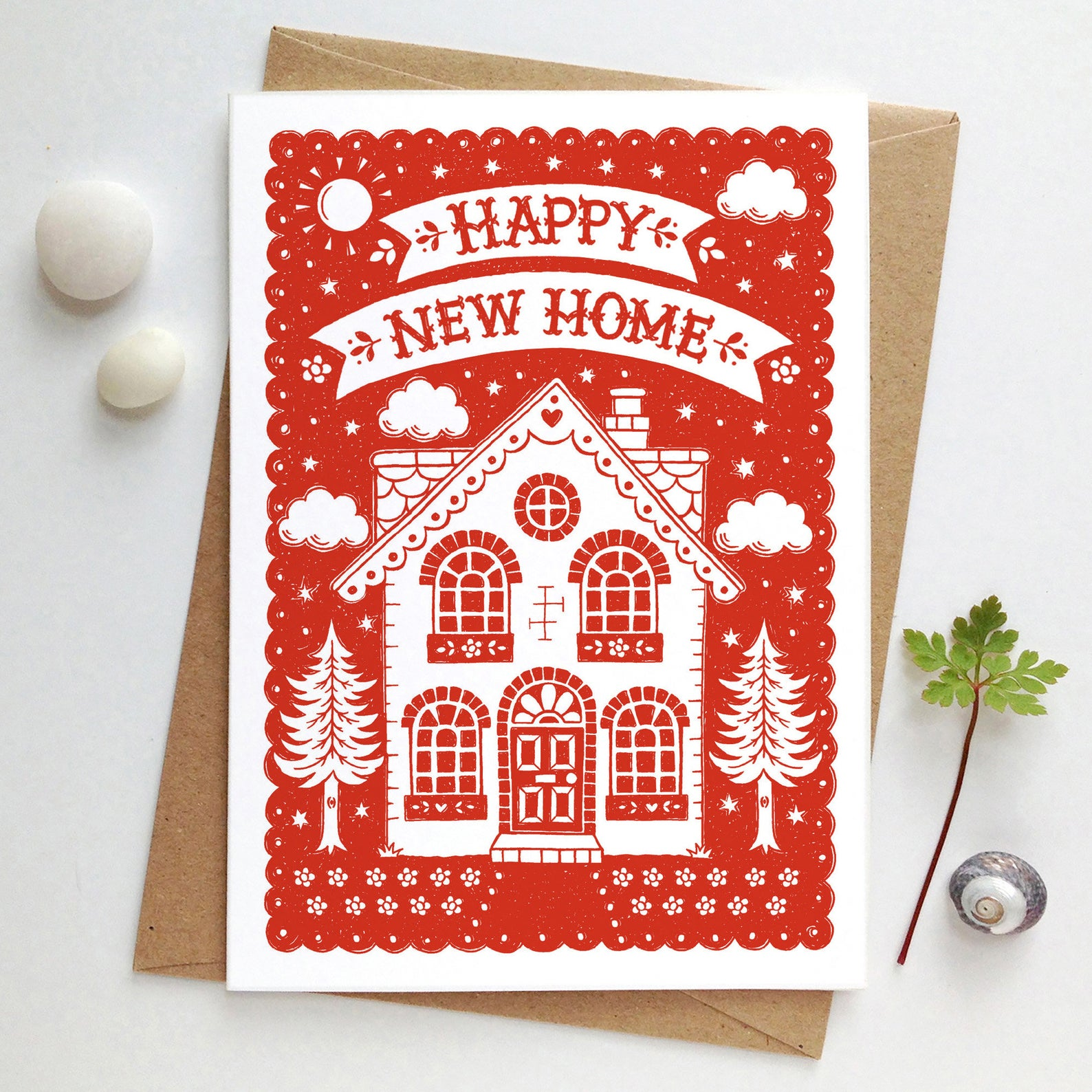 Alexandra Snowdon Happy New Home Card