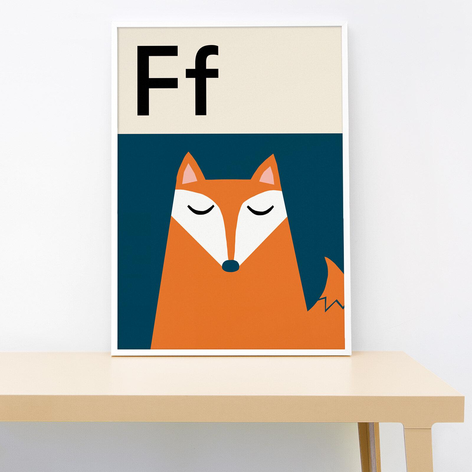 Lorna Freytag Fox A4 Print
