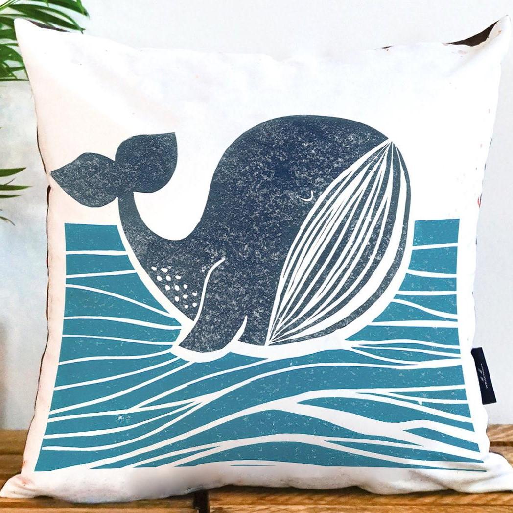 Wraptious Cushion Whale