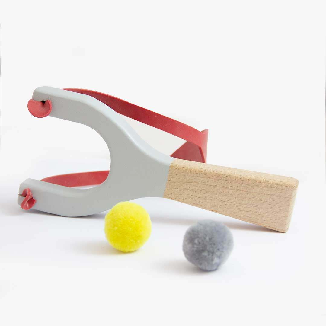 Me&Mine Wooden Catapult Toy
