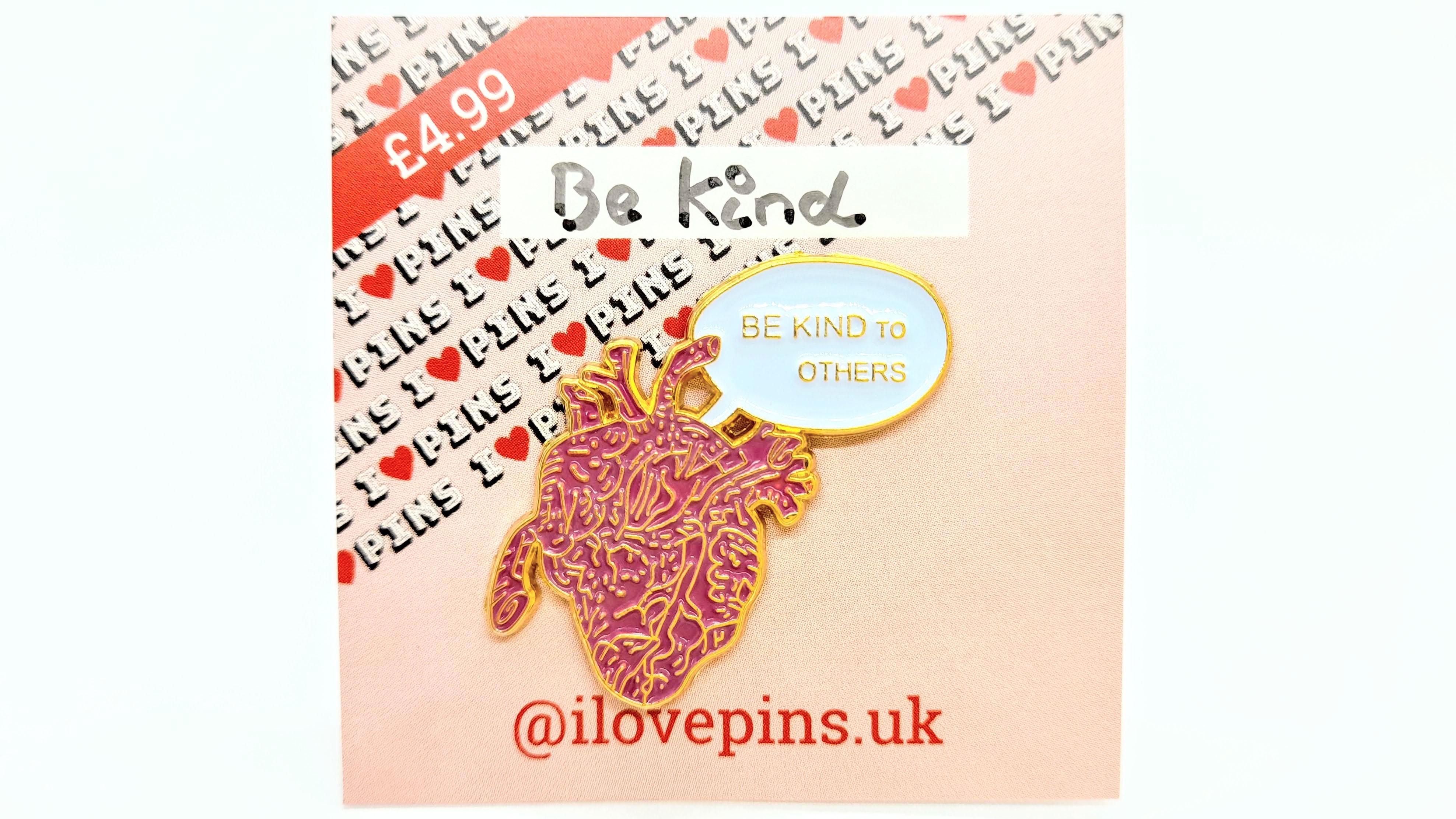 ILovePins Be Kind Enamel Pin