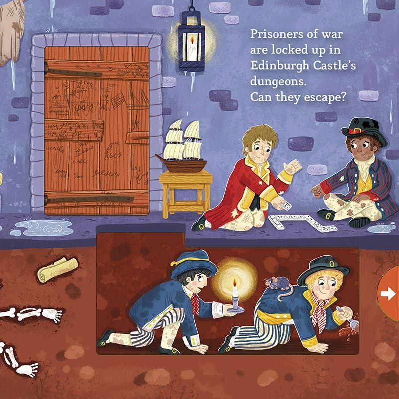 Little Explorers: Scottish Castles (Children's Push Pull Slide Board Book)