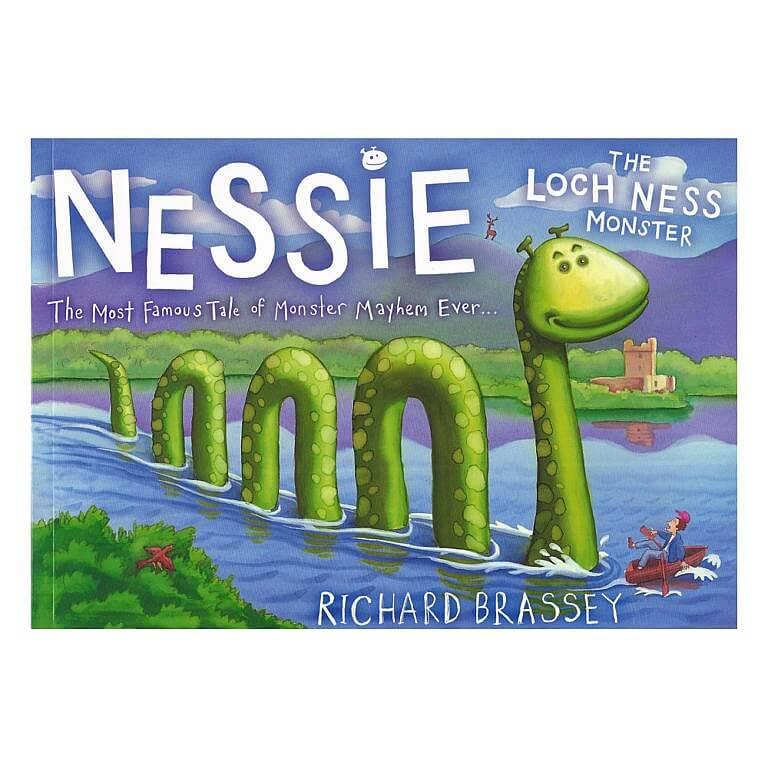 Nessie The Loch Ness Monster (Children's Book)