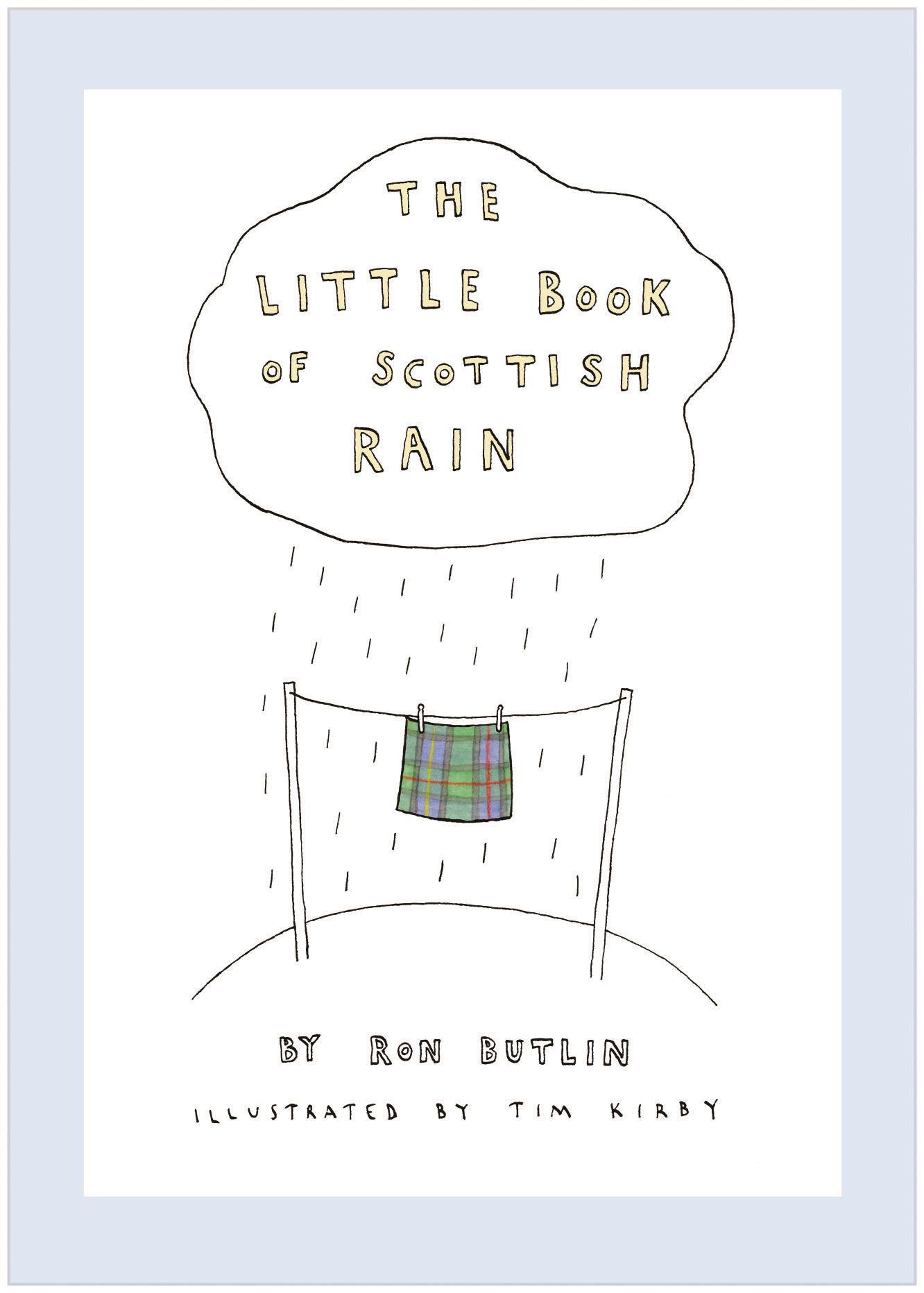 Little Book of Scottish Rain (Book)
