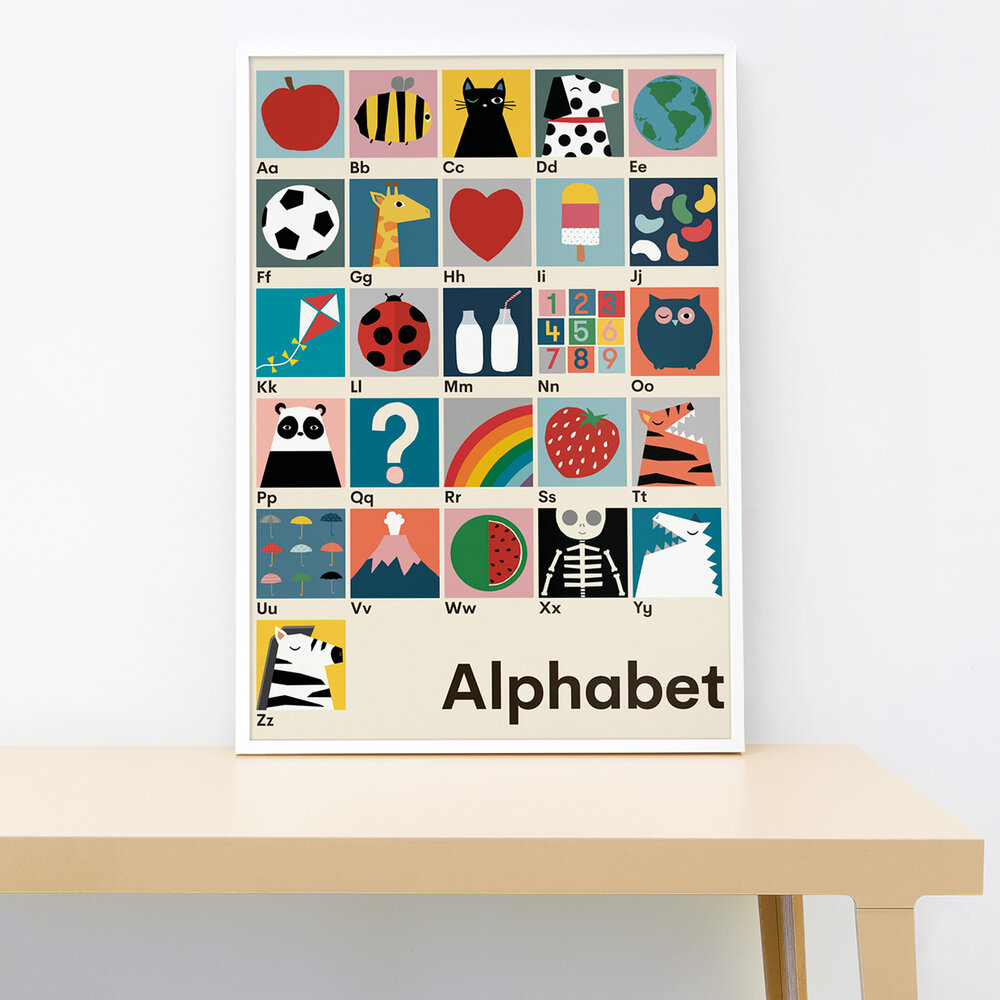 Lorna Freytag Alphabet Print