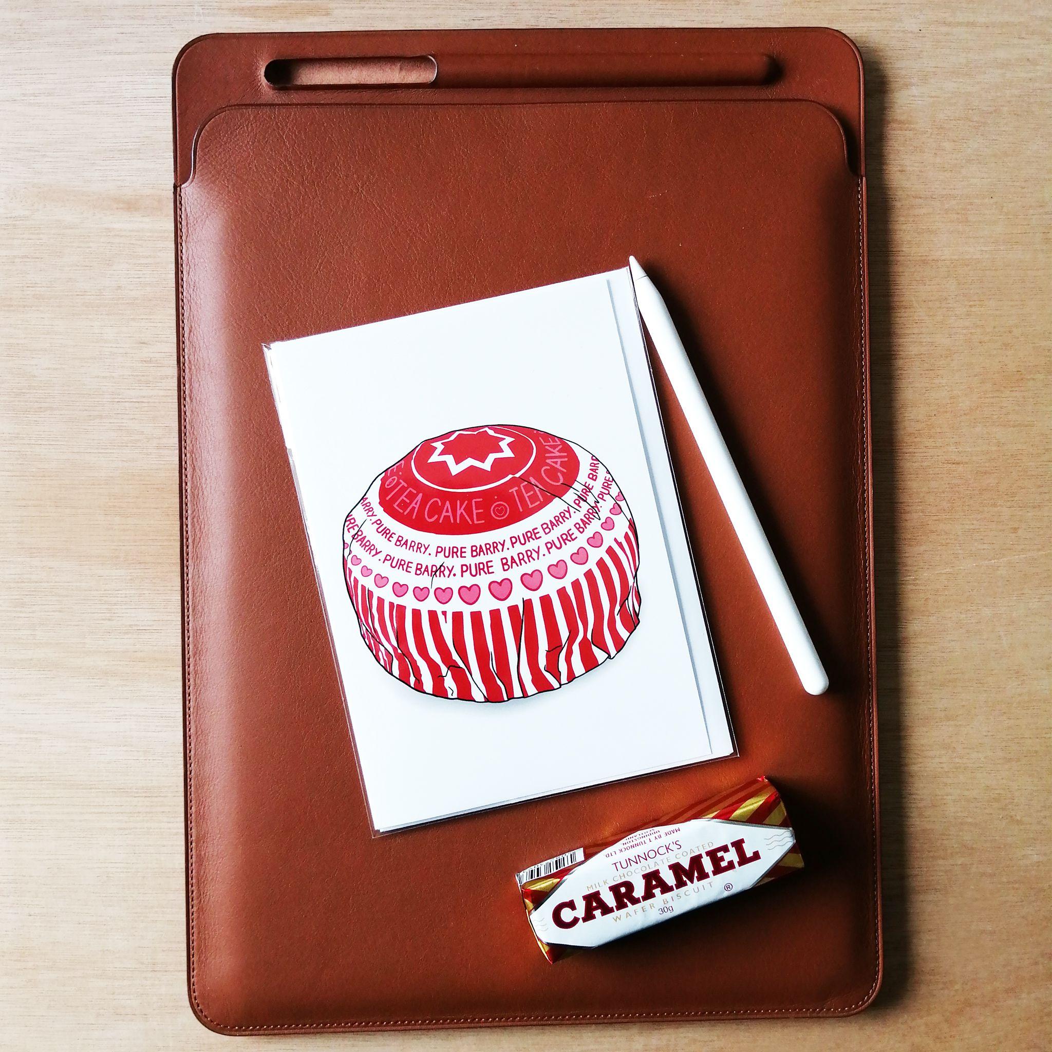 Cheryl Jones Designs Teacake Pure Barry Greeting Card