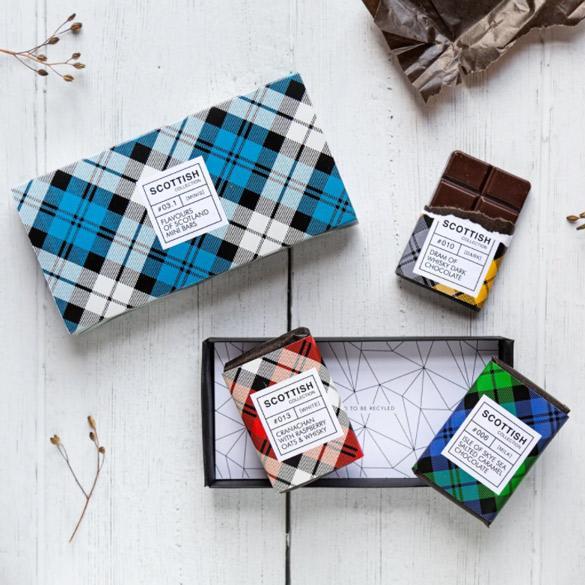 Quirky Chocolate 3 Mini Bar Gift Box