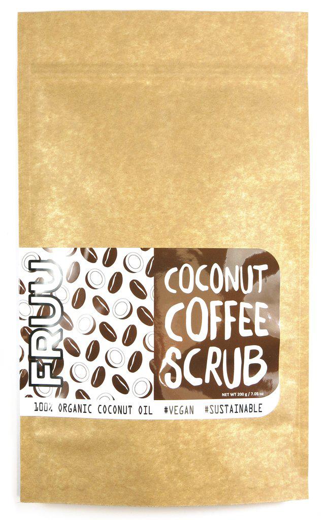 FRUU Coconut Coffee Scrub