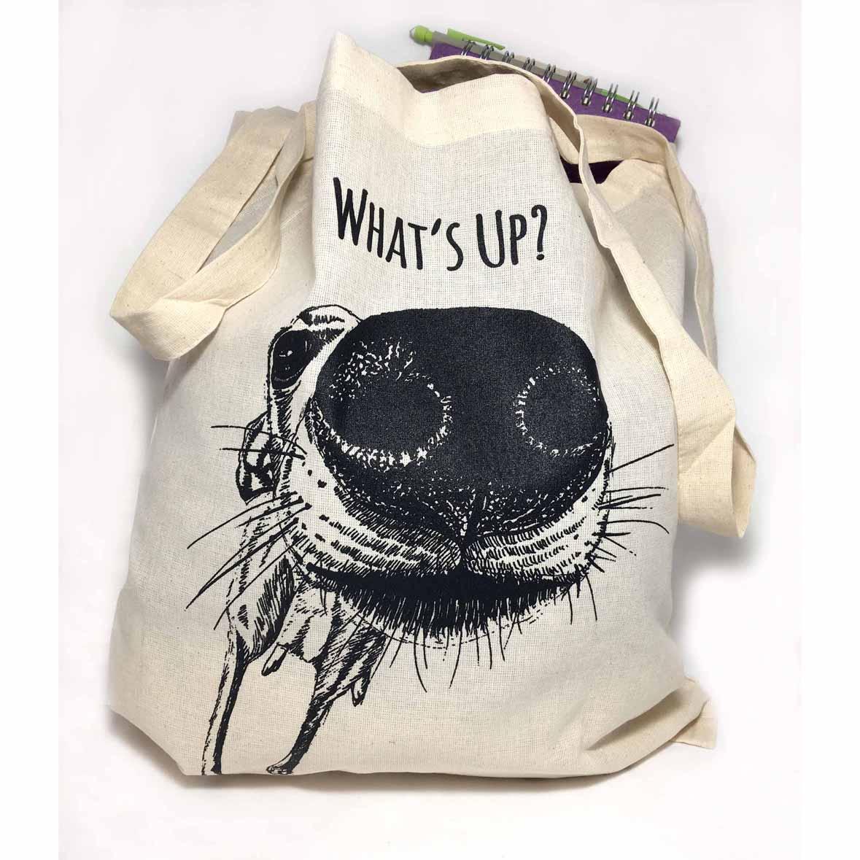 Sarah Cox Artworks Tote Bag SC136 What's Up