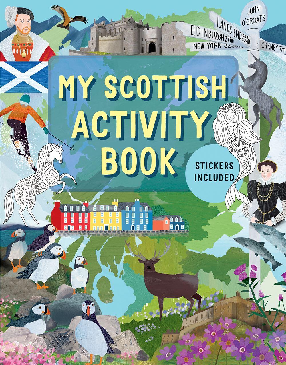 My Scottish Activity Book (Children's Book)