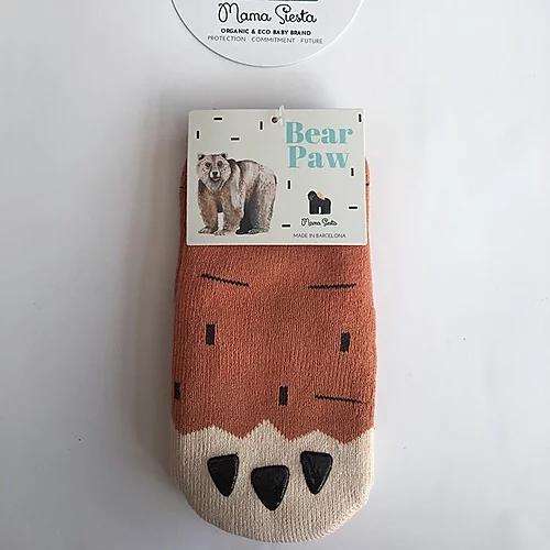 Mama Siesta Bear Paw Socks
