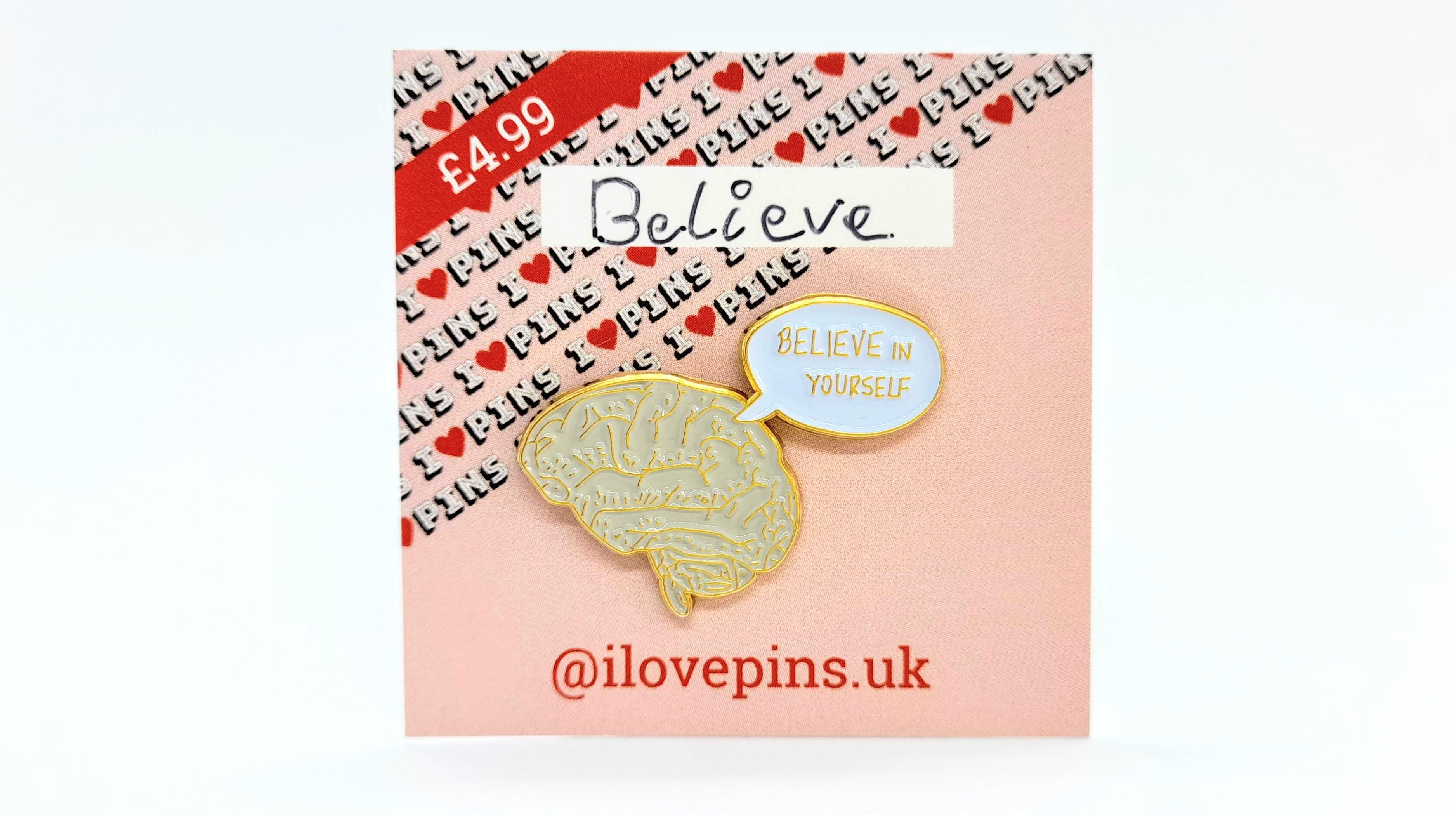 ILovePins Believe Enamel Pin