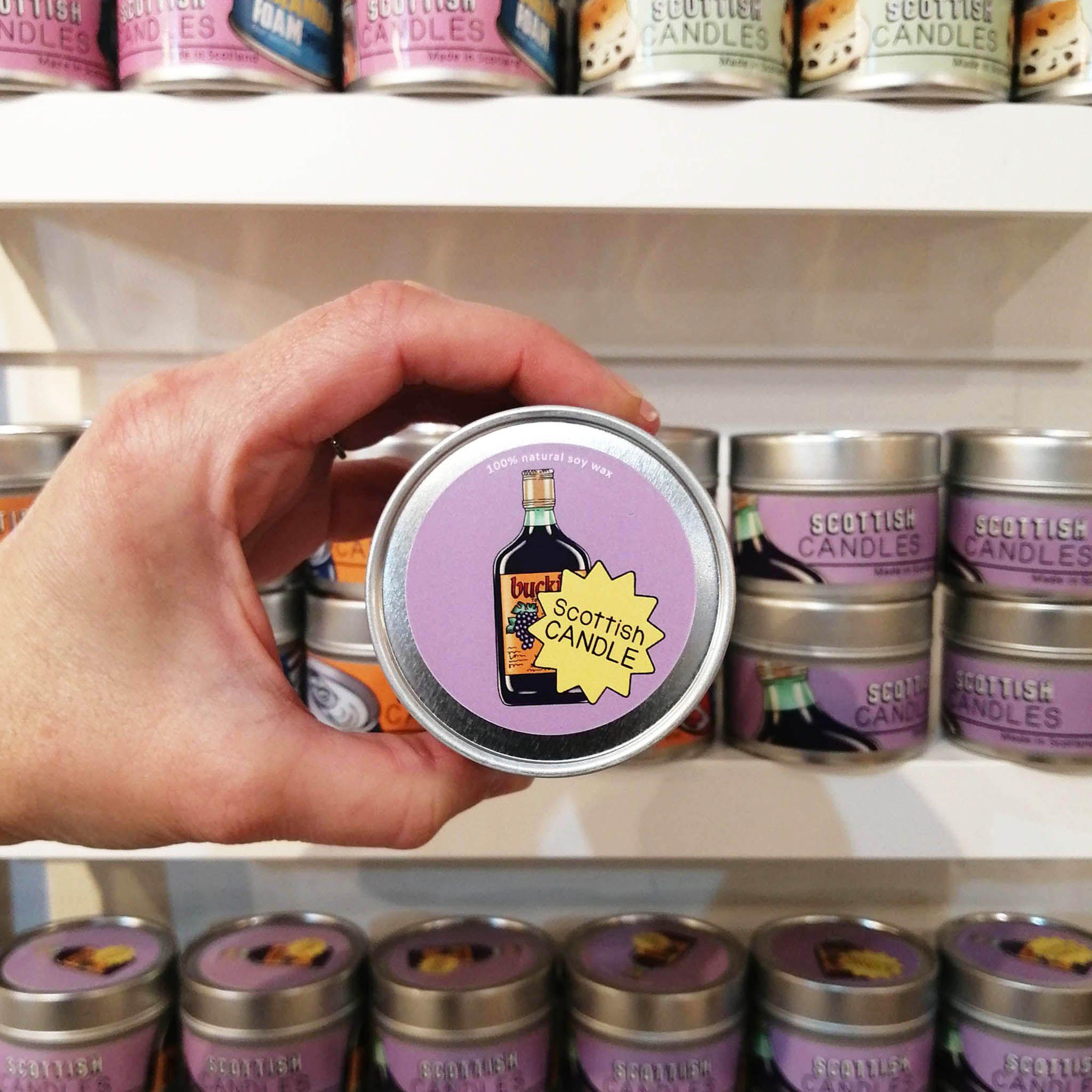 Cheryl Jones Designs Buckie Scottish Candle