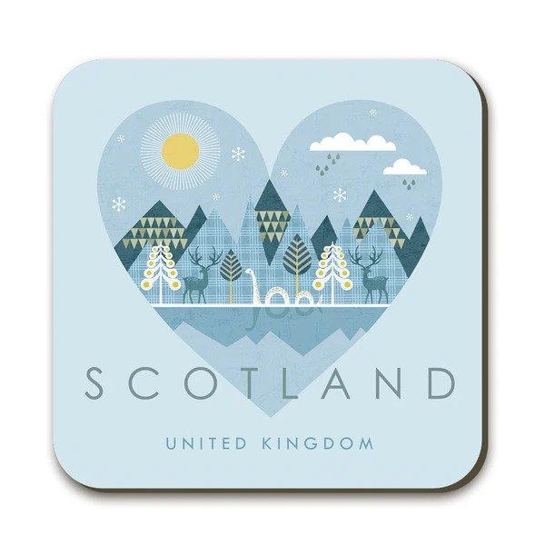 Wraptious Coaster - Scotland