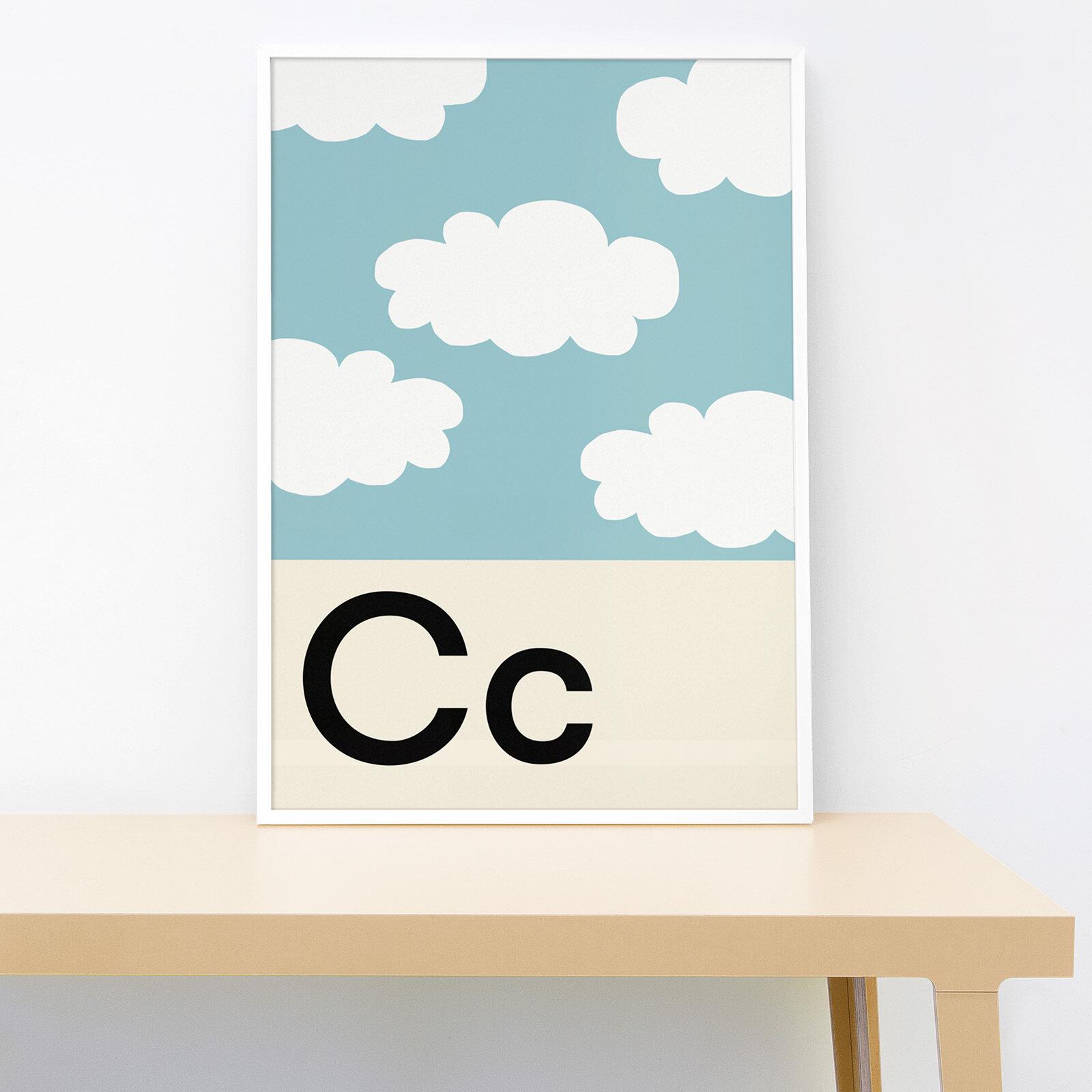 Lorna Freytag Clouds A4 Print
