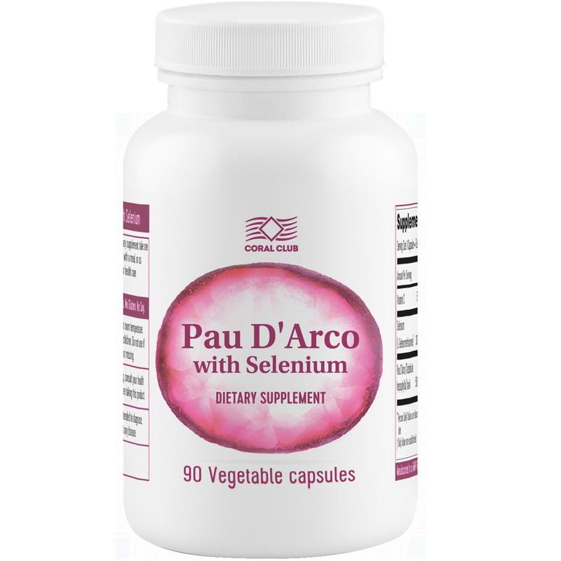 Pau D` Arco + Selenium