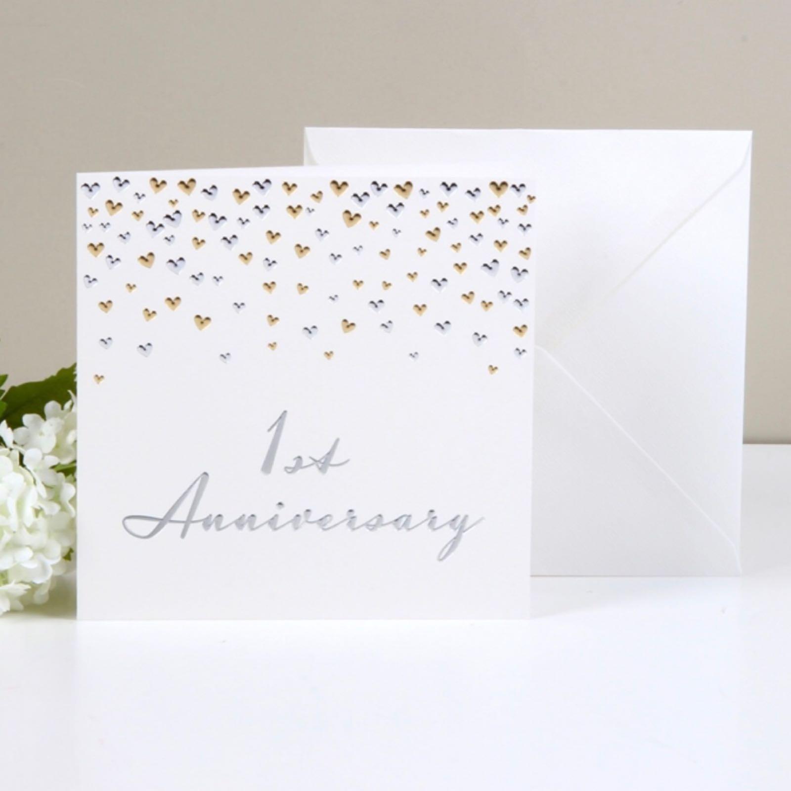'1st Anniversary' Amoré Card