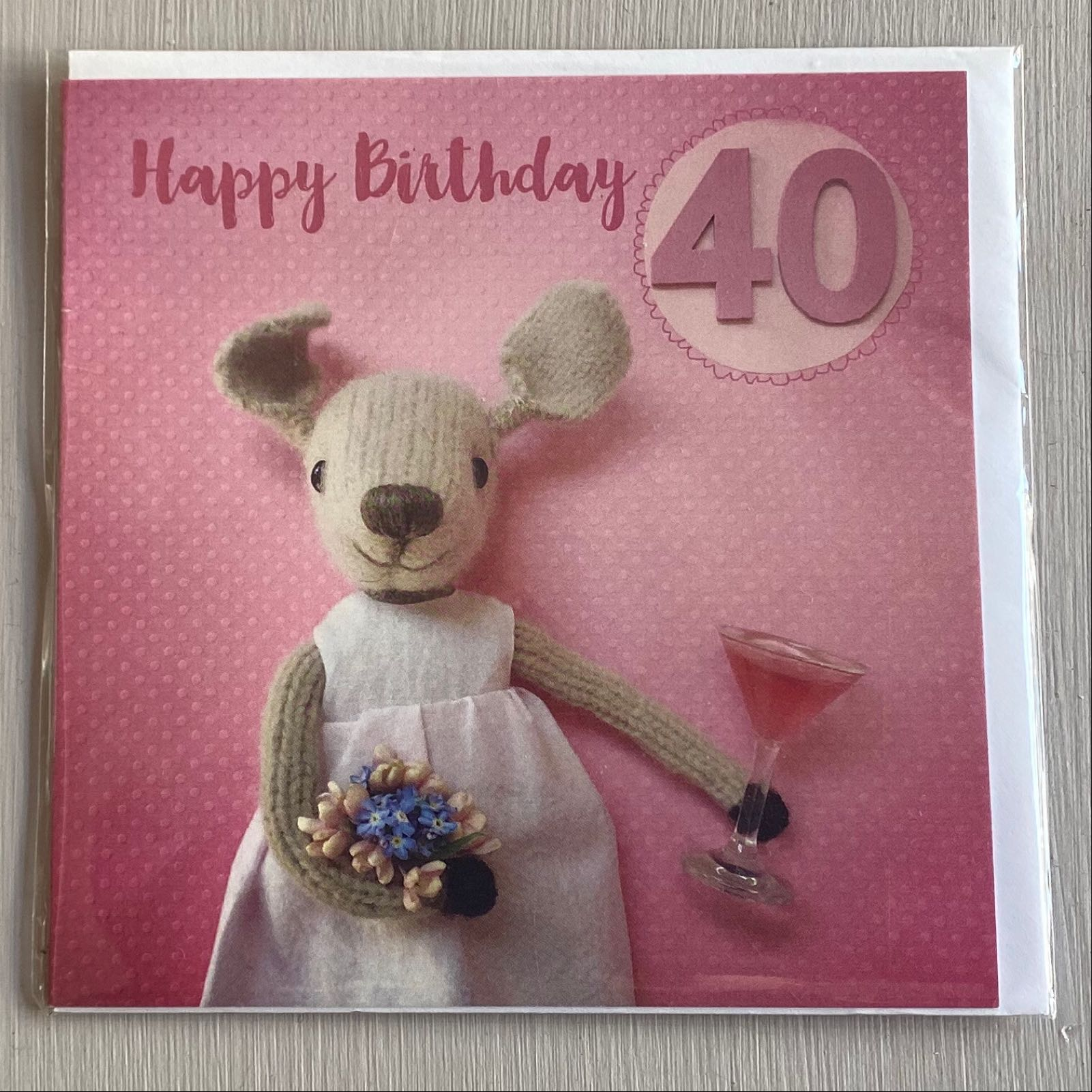 '40th Birthday' Pippi & Me Card