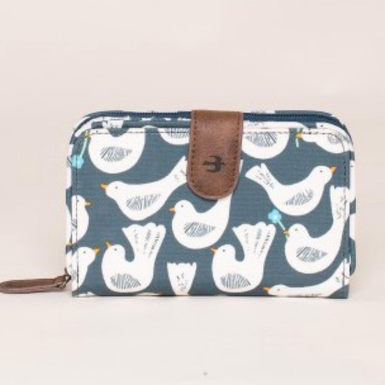Brakeburn Geo Birds Wallet