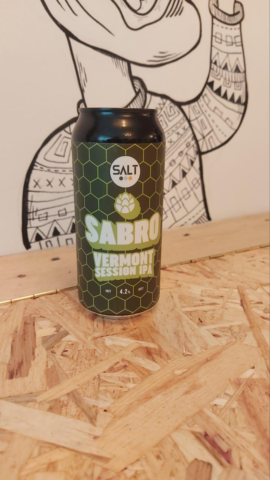 Salt Sabro Vermont Session IPA 4.2%