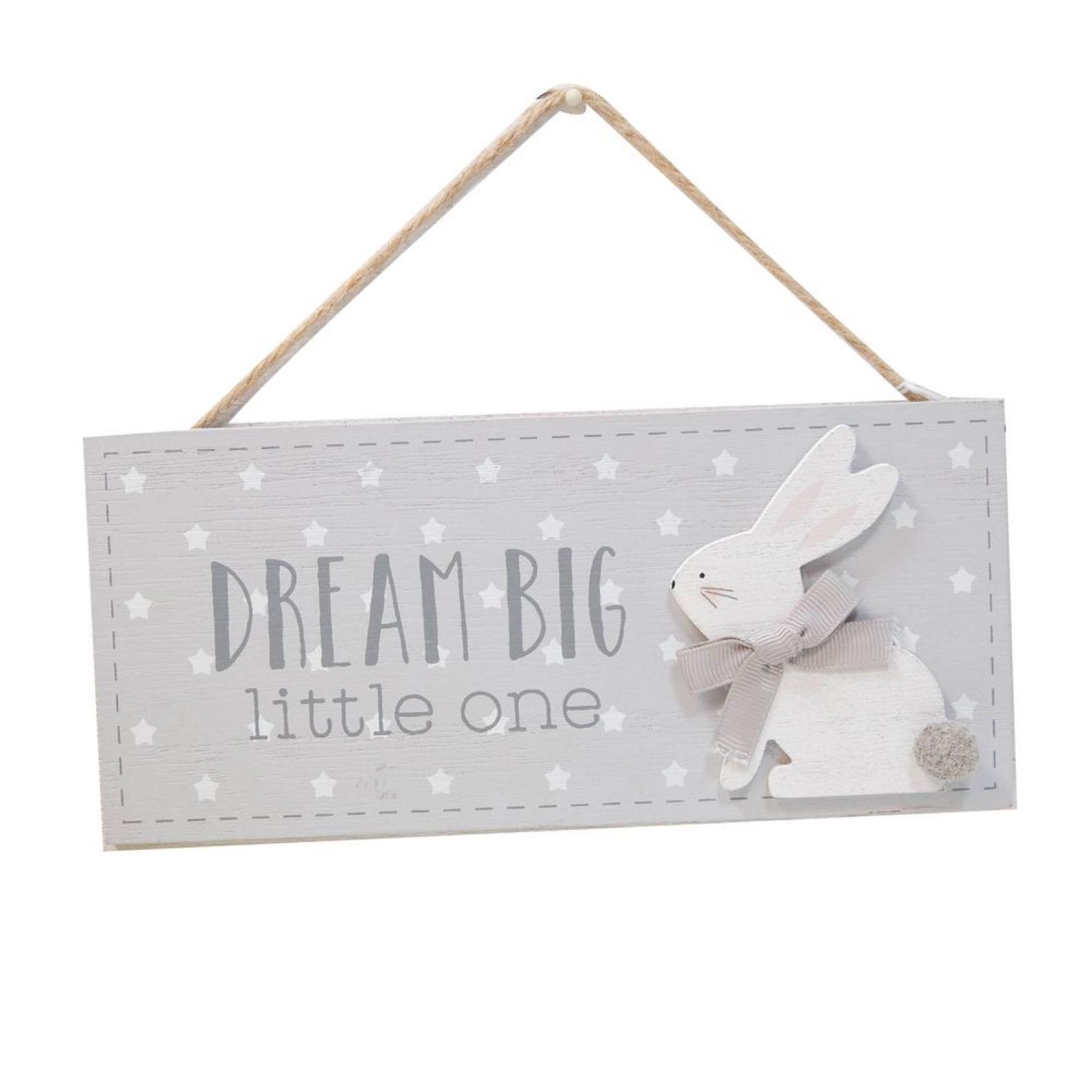 Dream Big Little One Plaque