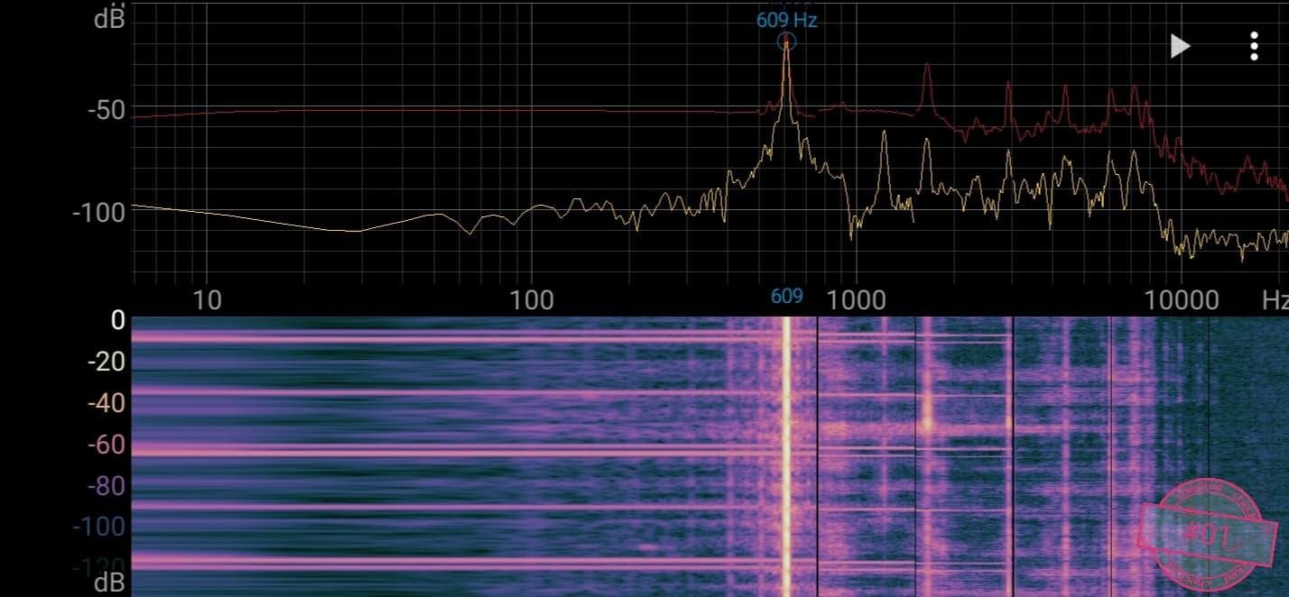 Singskål #01, 609 hertz, 15cm, 716 gr