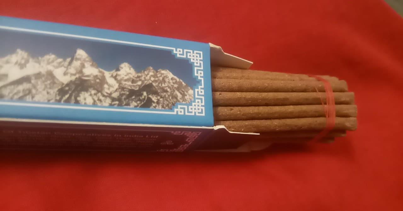 Himalayan Aroma, Tibetan incense , 24x 23cm