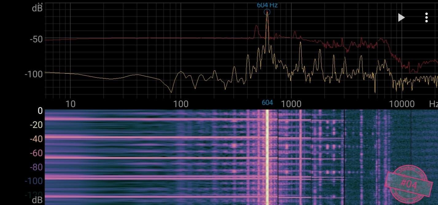 Singskål #04, 604 hertz, 14 cm,  788 gr