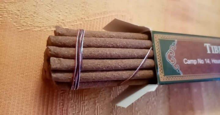 Lhochok Palgeri, Tibetan incense, 24x 21cm