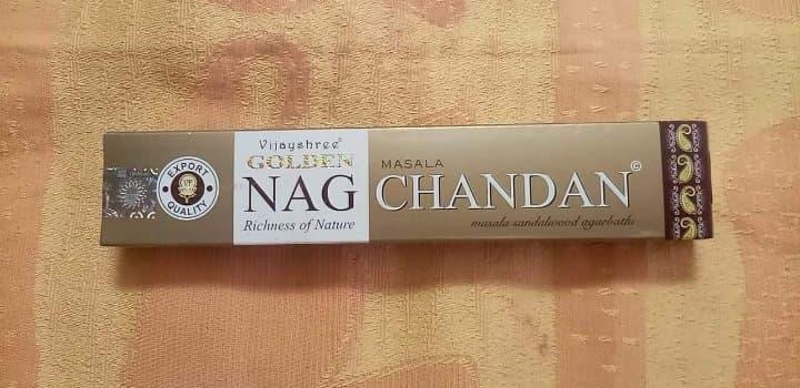 NagChandan - Sandalwood - Indian Incense -  15gr - 15x 15cm