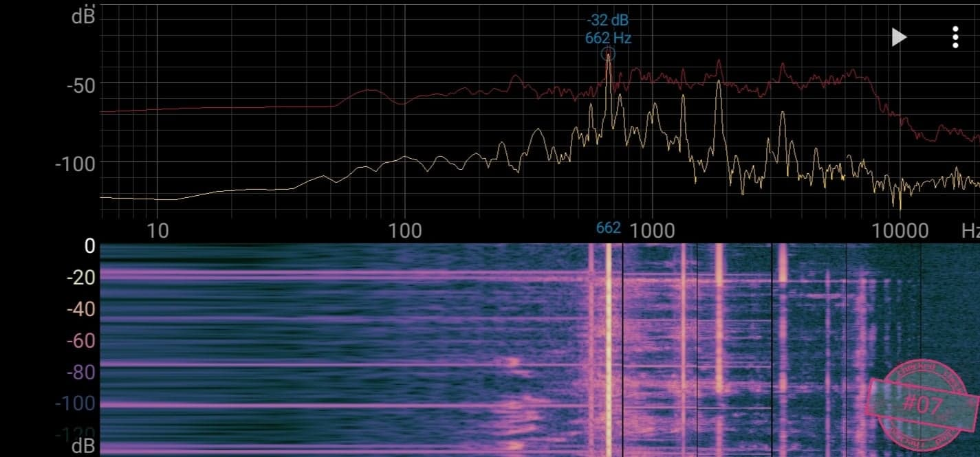 Singskål #07, 662 hertz, 13,8 cm,  806 gr