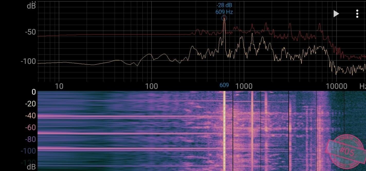 Singskål #05,  609 hertz, 13,8 cm,  766 gr