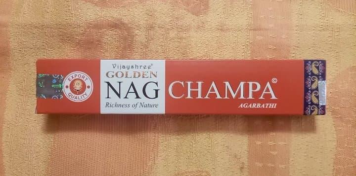 NagChampa - Agarbathi - Indian Incense - 15 gr - 15x 15cm