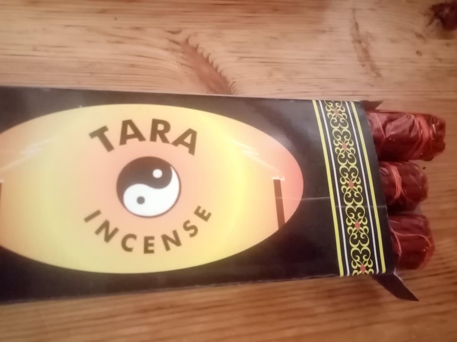 Tara incense - 3x19 pakke, 17 cm