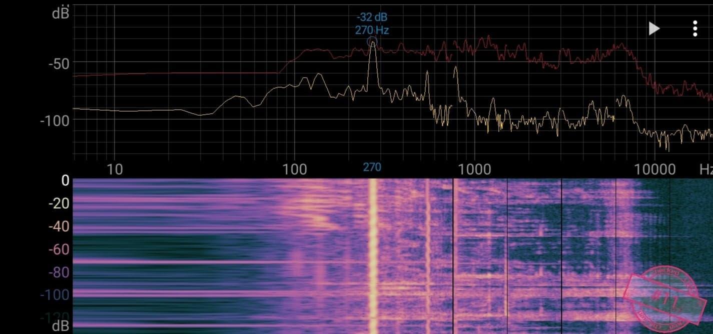 Singskål #11, 270 hertz, 15.5 cm,  619 gr