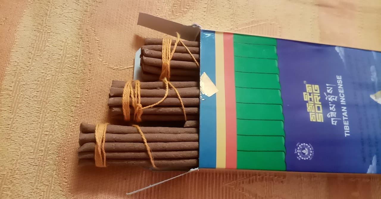 Sorig - Tibetan Incense, 3x20x 21cm