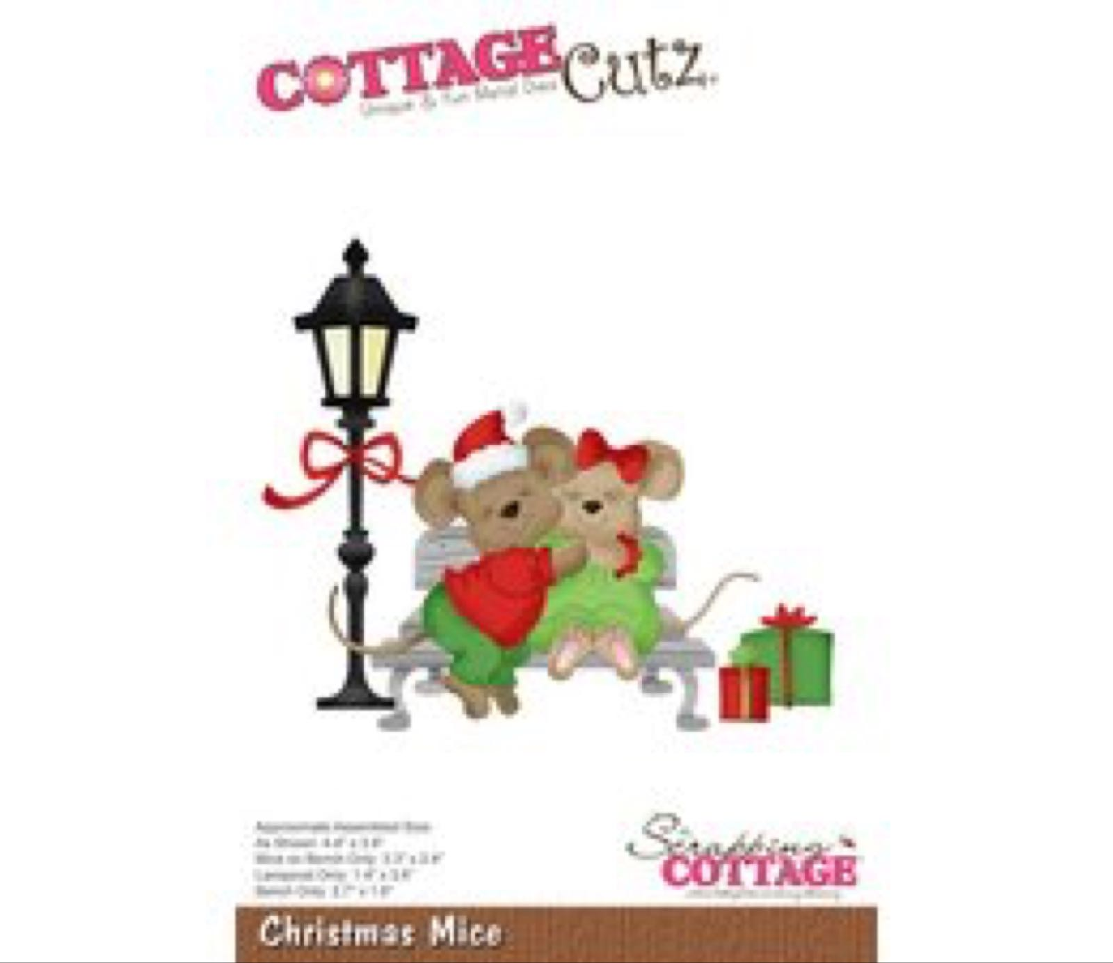 Cottage cutz  christmas mice